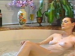 Vintage Movies -  Two pretty lesbian babes getting it on a bath tub