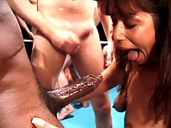 Vintage Movies -  Sultry European Nikita Denise takes on the gorgeous American fireball Amber Michaels in an all out cock sucking cum festival not to be missed! Incredible action, including savage face-fucking and gang bang oral penetrations!